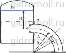 3-18 Фланец решение задач Гидравлика Куколевский gidromoll гидромолл
