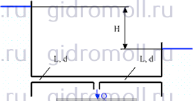 Трубопровод диаметром Решение задач по гидравлике Гидравлика Куколевский куколевского 10-19