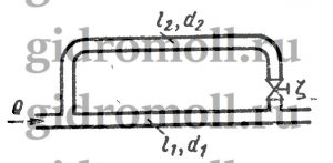 Найти как распределяется расходРешение задач по гидравлике Гидравлика Куколевский куколевского